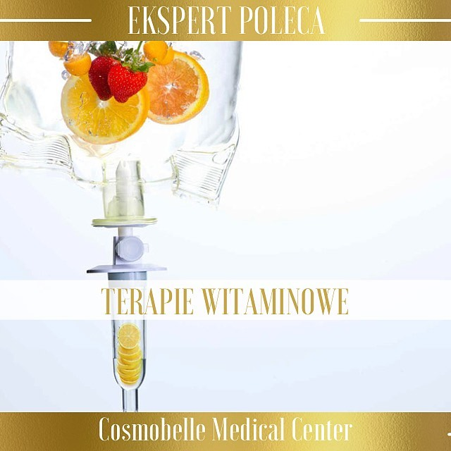 Cosmobelle Medical Center poleca terapie witaminowe.