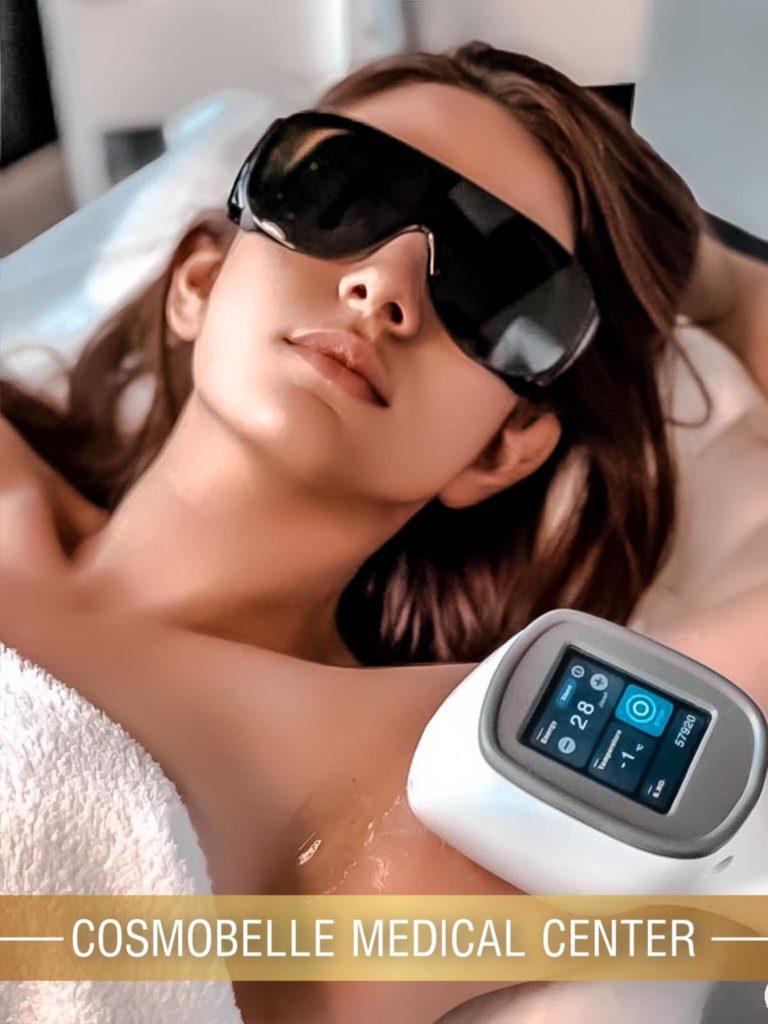 Bezbolesna, skuteczna i szybka depilacja najnowszym Laserem Diodowym 3D w CosmoBelle Medical Center.